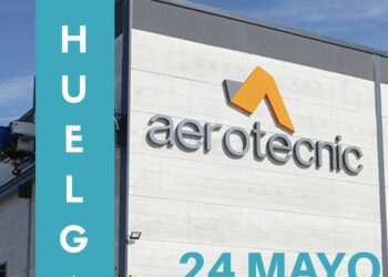 CNT convoca huelga indefinida en el centro de Sevilla de Aerotecnic Metallic