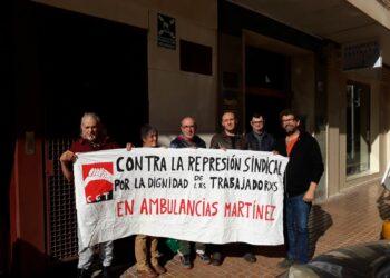 Sancionadas tres empresas de ambulancias por acoso sindical a CGT