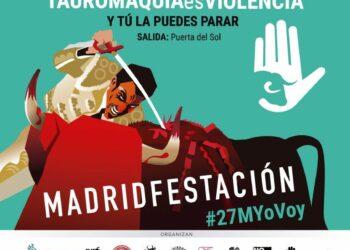 EQUO pide la abolición de la tauromaquia en las concentraciones de Córdoba y Madrid