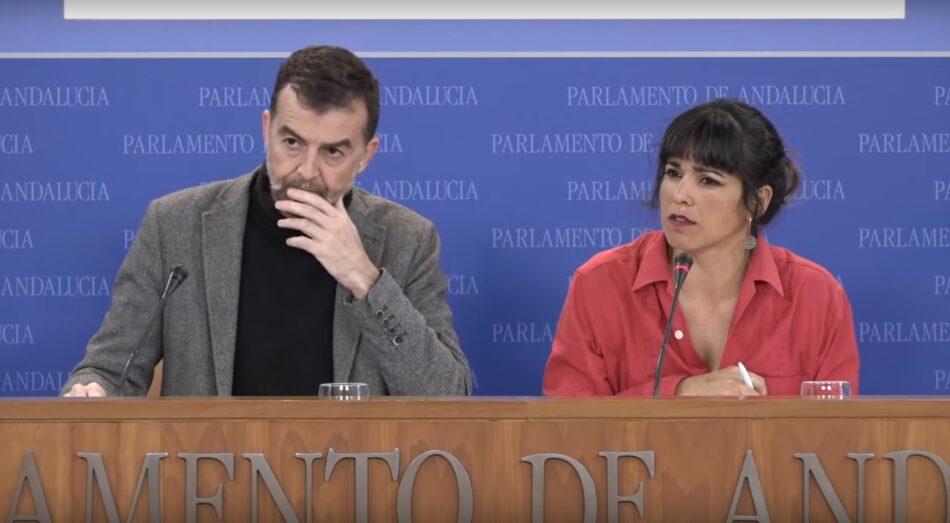 Podemos e IU publican el preacuerdo electoral para concurrir conjuntamente a las autonómicas andaluzas