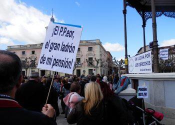 Los presupuestos aumentan la indignación de las y los pensionistas
