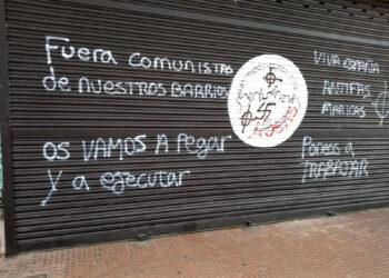 El PCM denuncia ataques a su sede en Alcalá de Henares