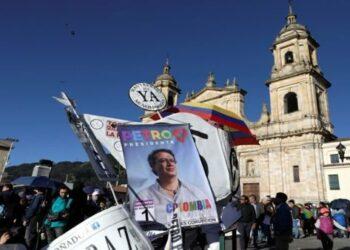 Gustavo Petro cierra campaña electoral en Colombia