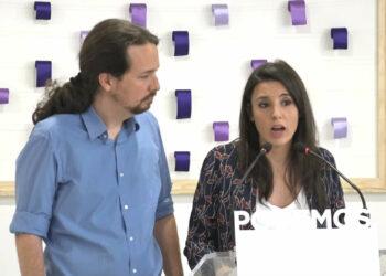 Pablo Iglesias e Irene Montero consultarán a las bases de Podemos sobre su continuidad en sus cargos