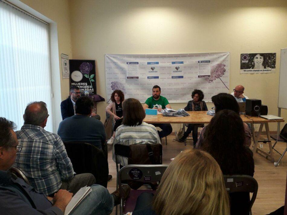 Podemos realiza un diagnóstico de las posibles confluencias en los municipios de la provincia de Málaga