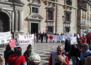 La Audiencia de Granada paraliza un desahucio en base a una sentencia del Tribunal Supremo