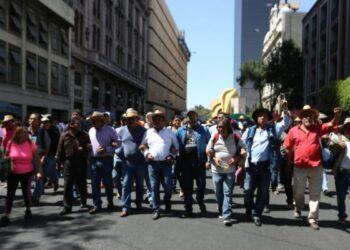 México. Docentes en huelga de varios estados marcharon en CDMX y acampan frente a la Secretaría de Gobierno