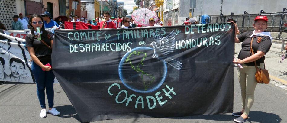 La desaparición forzada en Honduras