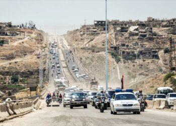 Siria reabre carretera Homs-Hama tras 7 años de cierre por guerra