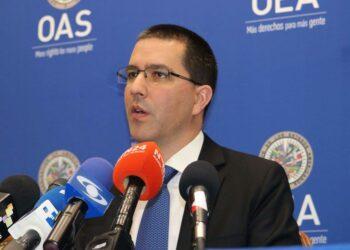 Canciller Arreaza: Reiteramos la disposición de sostener relaciones de respeto, diálogo y sin injerencia con EEUU