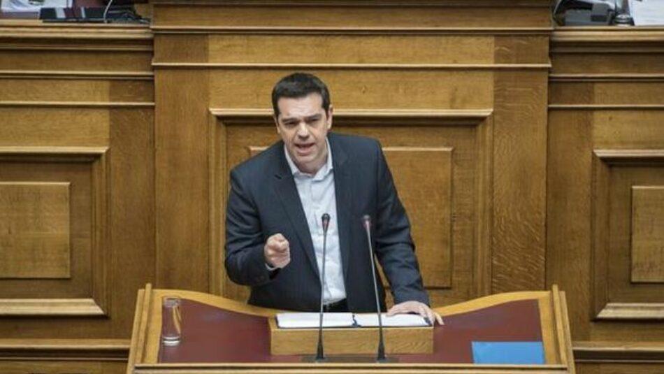 El gobierno de Alexis Tsipras supera una moción de censura en el Parlamento griego