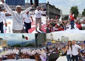 Candidatos mexicanos inician recta final de campaña electoral