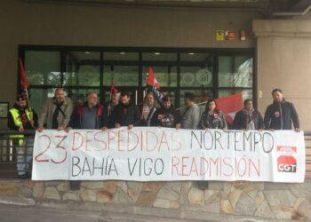 Las empleadas de limpieza despedidas por el Hotel Bahía de Vigo convocan concentraciones para reivindicar su reincorporación