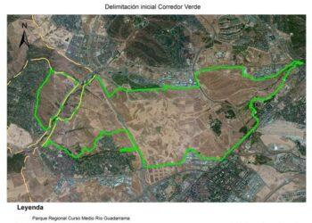 Paralizada la recuperación de una vía pecuaria en Madrid por un club social militar