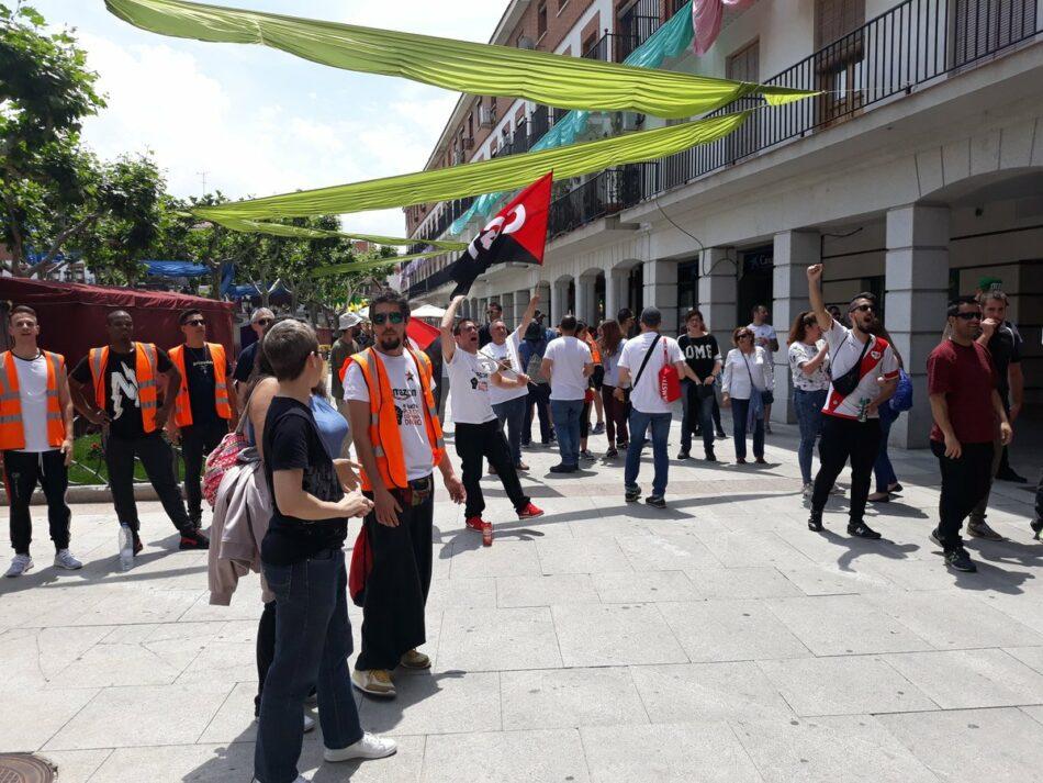 Nuevos paros de los trabajadores de Amazon en San Fernando de Henares