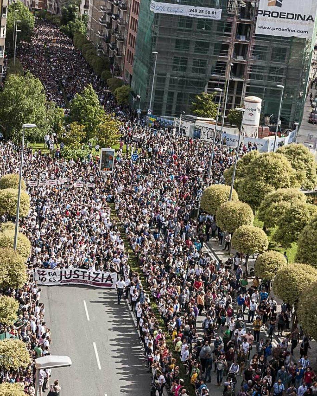 Se extienden las multitudinarias manifestaciones para pedir justicia por los chicos de Altsasu: el sábado 23 de junio, #MadridConAltsasu