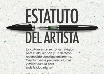Con el consenso de las fuerzas políticas del Congreso y a instancias de Unidos Podemos, se pone en marcha el Estatuto del Artista