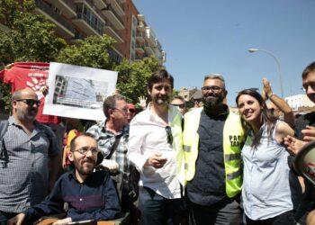 Rafa Mayoral, ante la denuncia de Cabify: «No hay transnacional con sede en paraíso fiscal que sea capaz de ponerle una mordaza a Podemos»