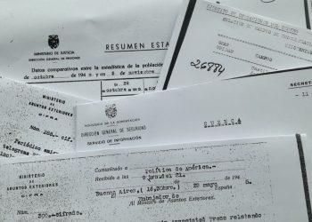 Exigen al Gobierno homenaje de Estado a todas las personas que lucharon contra el fascismo y devolución de documentos robados por la Fundación Franco