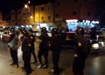Las fuerzas de ocupación marroquíes manifestaciones saharauis en Smara ocupada
