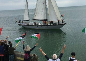 Cádiz con la Flotilla de la Libertad