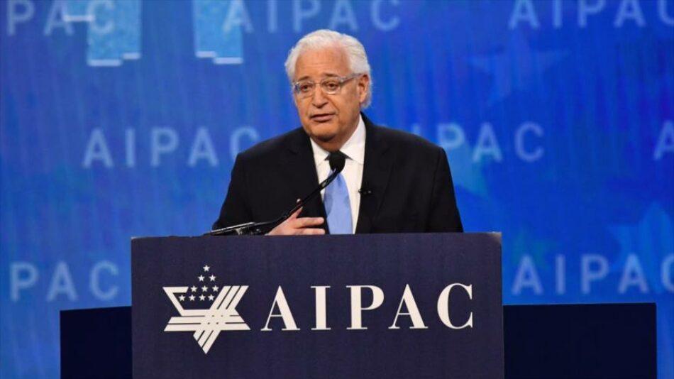 El embajador David Friedman bloqueó las investigaciones del gobierno estadounidense a sus ayudas a Israel