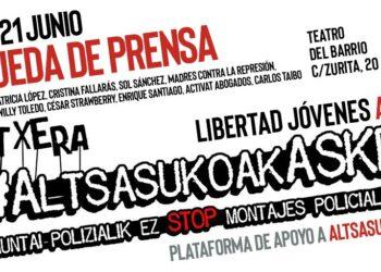 «¡Libertad para los 7 de Altsasu!»