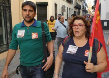 Engracia Rivera e Ismael Sánchez encabezarán la lista que Izquierda Unida ponga en Sevilla a disposición de la confluencia