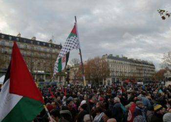 Manifestaciones en Francia y Alemania condenan visita de Netanyahu y piden un boicot contra Israel