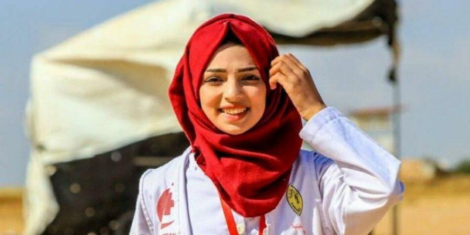 El ejército israelí mata a una enfermera palestina de 22 años que socorría a heridos palestinos en Gaza