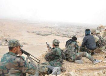 Ejército sirio y Hezbolá avanzan en la región desértica de Badiya al Sham frente al Daesh