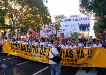 Cambiemos Murcia pide la revisión de oficio de todas las multas y procesos judiciales por las movilizaciones en las vías