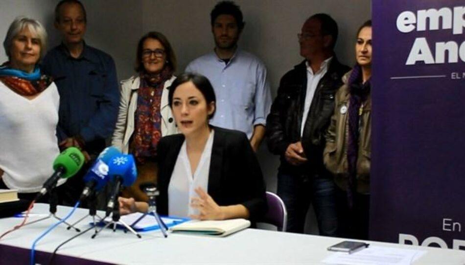Isabel Franco dimite como Secretaria de Sociedad Civil de Podemos Andalucía ante la «desconexión» de este partido y su «fusión» con IU