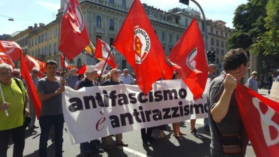 Cientos de italianos se movilizaron contra el racismo