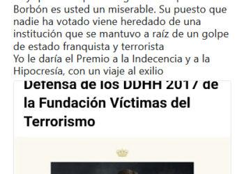 """Detienen a Oscar Reina (SAT) por un tuit de diciembre de 2017 considerado como """"injurias a la corona"""""""