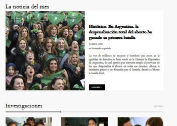 Nuevo portal de noticias de Latinoamérica  que denuncia «fake news» sobre derechos humanos