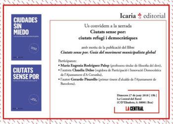 Gerardo Pisarello participa en un debat sobre el paper de les ciutats en la crisi dels refugiats