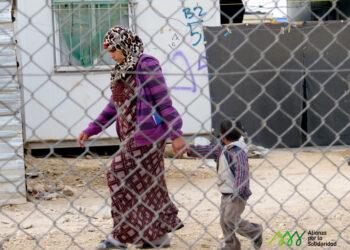 El 80% de las personas sirias refugiadas en Jordania viven en condiciones de extrem pobreza