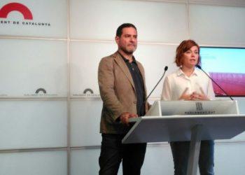 """Els comuns reclamen que es recuperi la """"bilateralitat"""" Generalitat – Estat i es retirin els recursos sobre les lleis suspeses pel TC"""