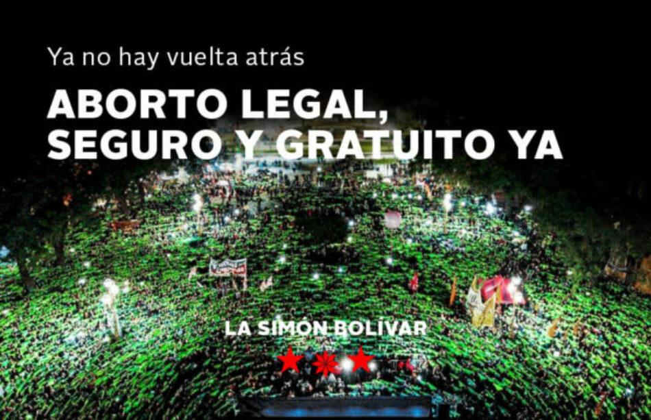 Argentina / Con todas nuestras fuerzas a ganarlo en las calles: Aborto legal, seguro y gratuito ya!