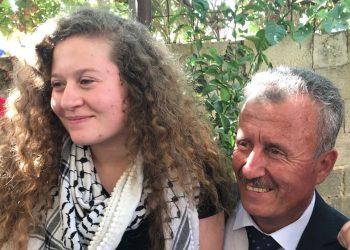 Liberada joven palestina Ahed Tamimi tras ocho meses en prisión