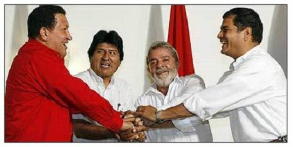 Venezuela: Aquí los patriotas, allá los colonialistas, por Adán Chávez Frías