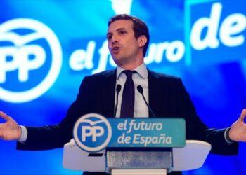 El Partido Popular elige como presidente a Pablo Casado