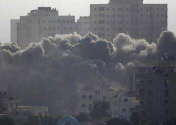 Cazas israelíes vuelven a bombardear la Franja de Gaza