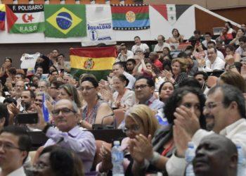 El respaldo a Bolivia en el Foro de Sao Paulo en Cuba: reivindican rol antiimperialista en la región, reelección de Evo Morales y demanda marítima