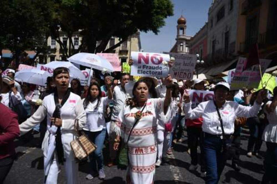 México. Impugnan resultados de las elecciones en Chiapas y Puebla