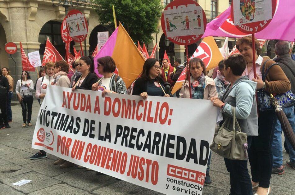 IU-Equo apoya la huelga que las trabajadoras de ayuda a domicilio realizan este 9 de julio