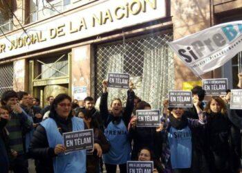 Victoria de lxs trabajadores de Télam: La justicia ordenó reincorporación de lxs 357 despedidxs en Argentina