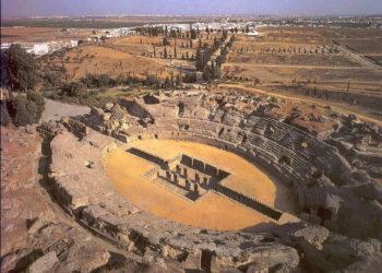 Izquierda Unida de Santiponce denuncia el riesgo de Incendio que existe dentro del conjunto arqueológico de Itálica