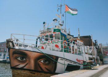 Cuatro barcos de la Coalición internacional de la Flotilla de la Libertad 'Un futuro digno para Palestina' zarpan desde Palermo hacia Gaza